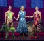 Graham Weaver as Felicia Richard Grieve as Bernadette and Jason Donovan as Tick - Priscilla Queen of the Desert