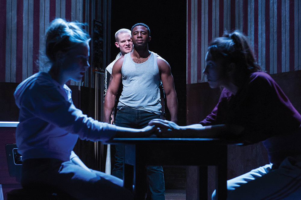 othello play review Review: red velvet in chicago shakespeare courtyard theater tells the story of african-american actor ira aldridge — offered the role of othello at the theatre royal in covent garden in 1833 (25 stars.