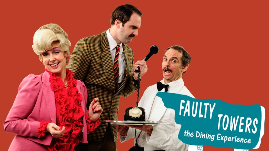 Faulty Towers Dinind Experience Theatre Royal Plymouth
