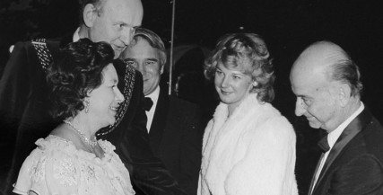 Princess Margaret Opens the Theatre Royal Plymouth in 1982