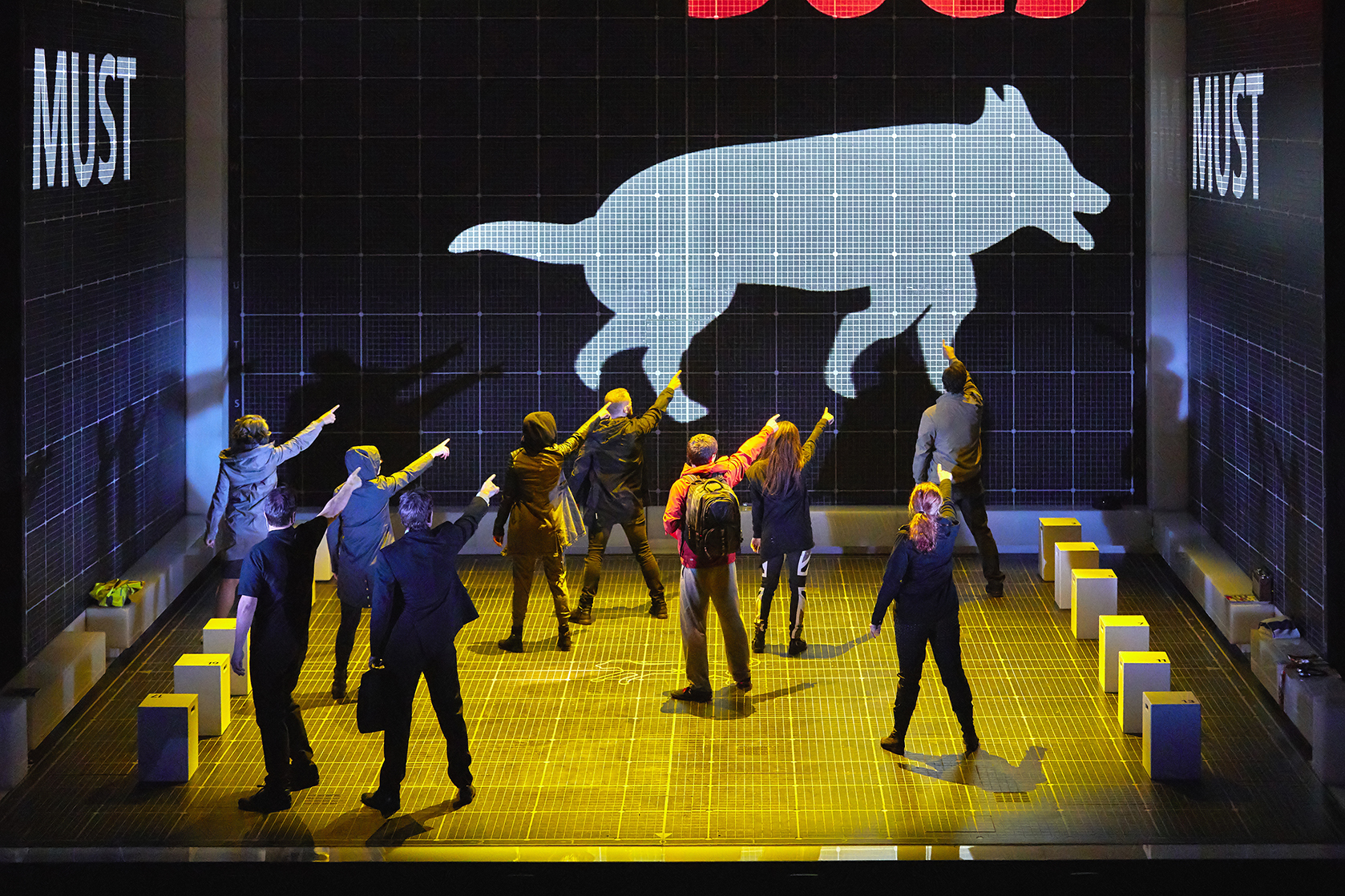 """the curious incident of a dog The acclaimed national theatre production of the curious incident of the dog in the night-time is """"the most inventive new show on."""