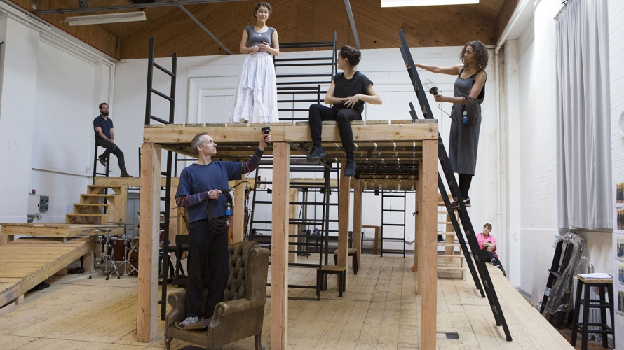NT Jane Eyre - Rehearsal Shot for blog post