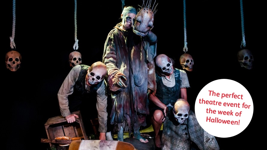HAG comes to the Theatre Royal Plymouth for Halloween!