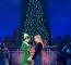 "Matt Kopec (Buddy), Kate Hennies (Jovie) and the cast of ""Elf The Musical."""