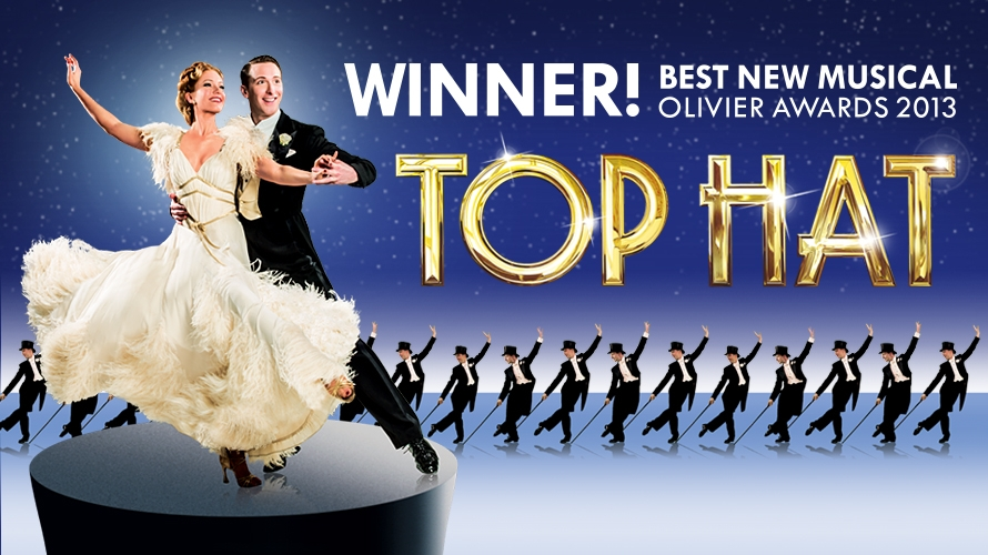 Image result for top hat musical london