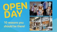 10 reasons you should be at our Open Day