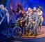James Marlowe as Bill Jukes, Naomi Sheldon as Tinkerbell, Cornelius Booth as Pirate Starkey, Harry Kershaw as Pirate Smee