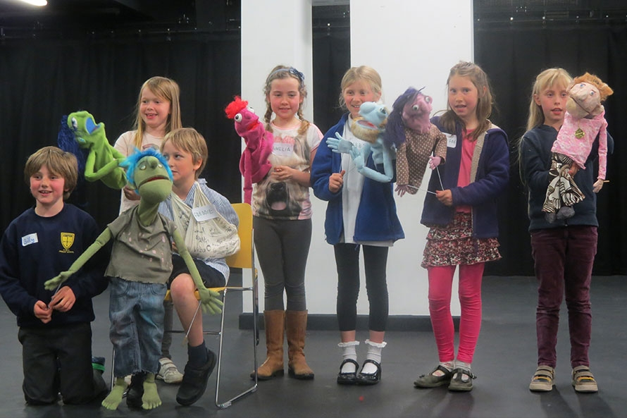 Young Company Puppet Workshops