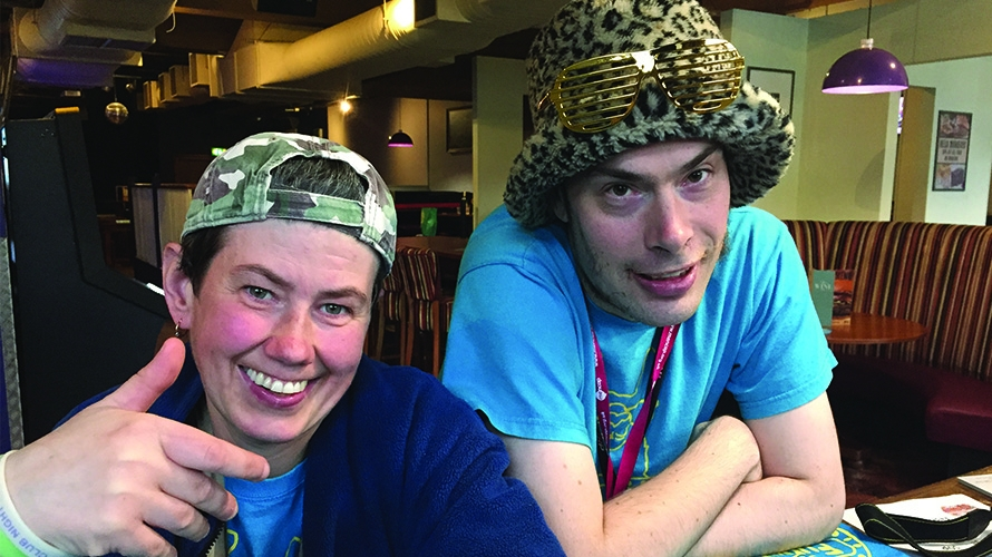 DJ Dolphin and Chris Burns
