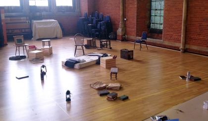The Rehearsal Room Thrust Layout