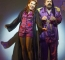 Michelle Collins as Baroness Bomburst and Shaun Williamson as Baron Bomburst in Chitty Chitty Bang Bang (Alastair Muir) small.jpg