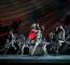 Valentin Olovyannikov as Stephano, James Barton as Trinculo and Tyrone Singleton as Caliban, with Artists of Birmingham Royal Ballet