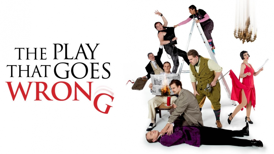 Image result for the play that goes wrong