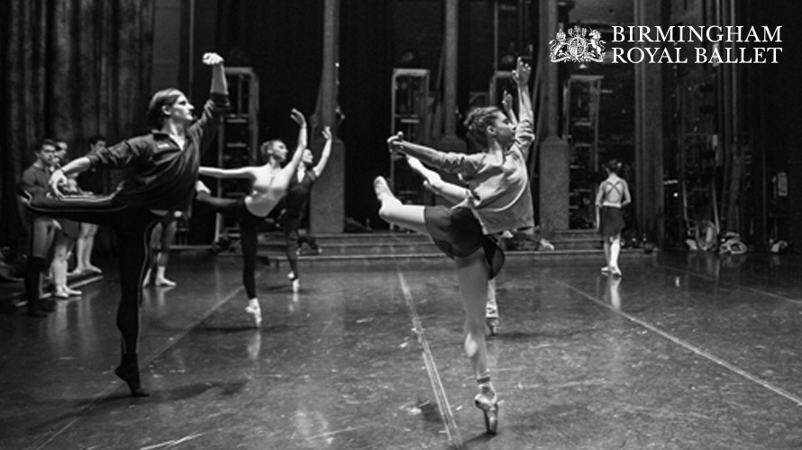 Birmingham Royal Ballet Class on Stage