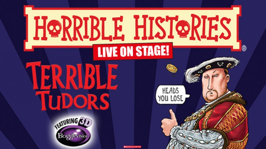Image result for horrible histories terrible tudors theatre tour