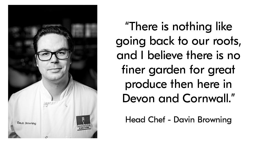 Head Chef - Davin Browning